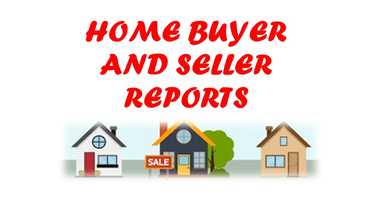 Ottawa Home Buyer and  Home Seller Reports